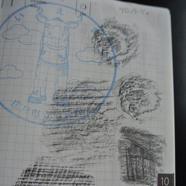 kyrie-c:  広島県立美術館の所蔵展はHPAM(エイチパム)展と名づけられ、様々な見せ方や美術館に来ても楽しみ方がわからない、という人へのヒントの提案などがされています。 今回のアートな宿題は参加型でその中のフロッタージュをやってみたものです。 #nikon #hobonichi #hobonichiplanner #notebookers #ほぼ日手帳 #ほぼ日プランナー #ほぼ日 #広島県美
