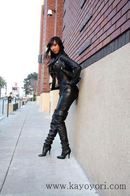 Sexy Leather Outfit Style Inspiration Pinterest
