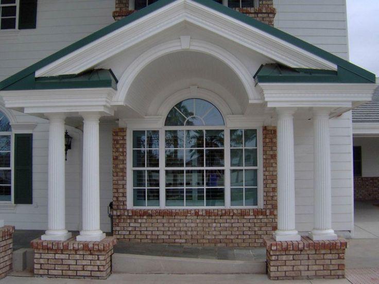 pilasters house Exterior Window Trim Options | Exterior ...
