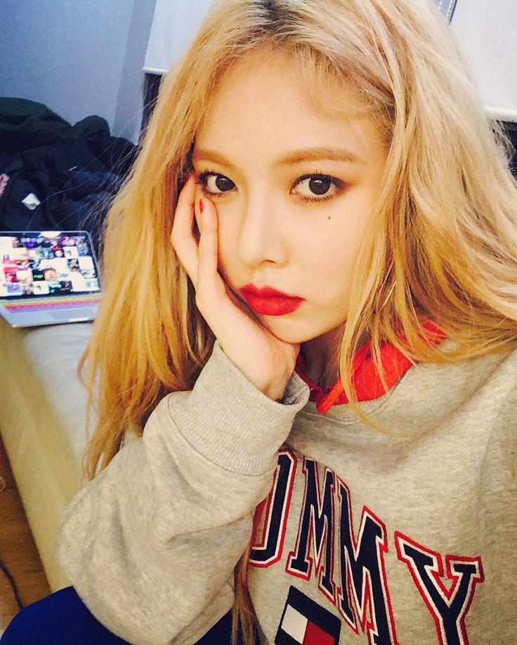 Pin em Hyuna Hyuna 2019