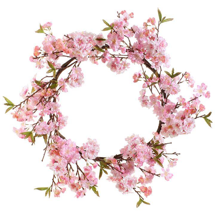 Raz Imports Inc Hello Spring Cherry Blossom Theme Cherry Blossom Party Wreaths
