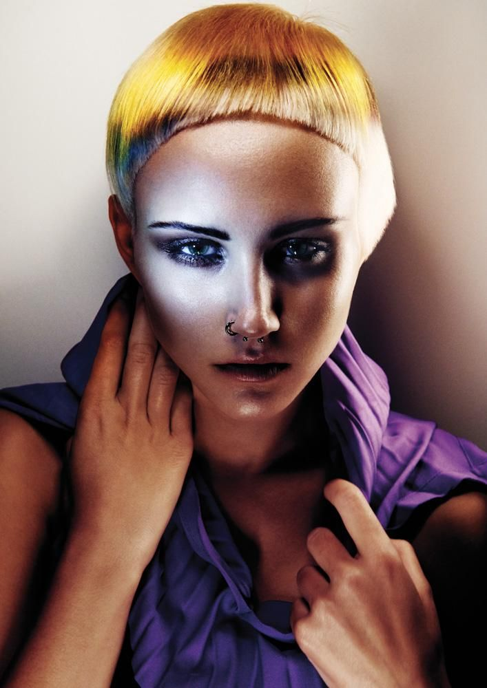 www.esteticamagazine.co.uk |  Hair: Dmitri Papas Colour: Justin Pace Photos: Andrew O'Toole Make-up: Kylie O'Toole Styliing: Gail Reid