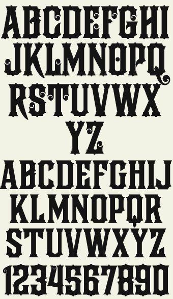 Letterhead Fonts / LHF Firehouse / Stock Certificate Fonts