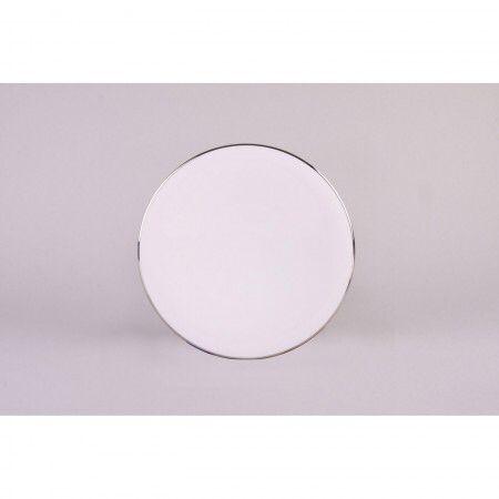 Prouna comet platinum dinner/salad plate
