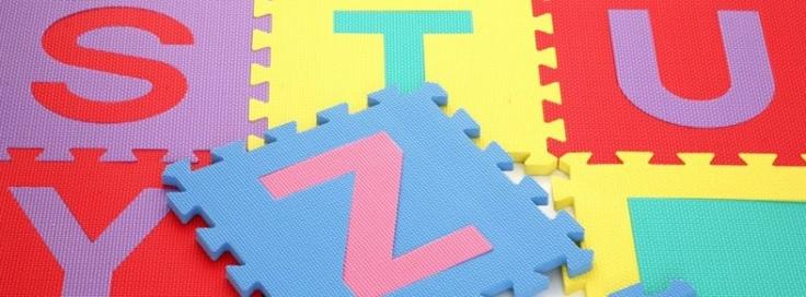 Vloertegel Letter 30 cm x 30 cm x 12 mm (J) | Speelmatten | Boxenland