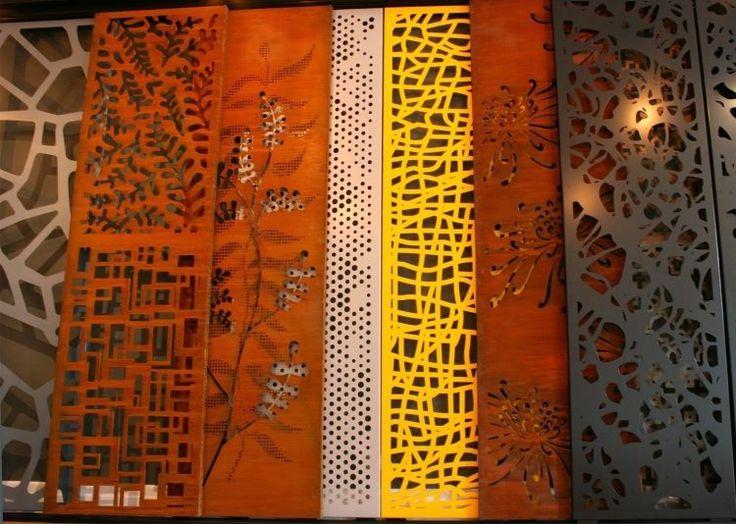 Panneau occultant et clôture brise-vue en métal en 60 idées avantageuses