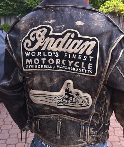 Old Indian Motorcycle jacket