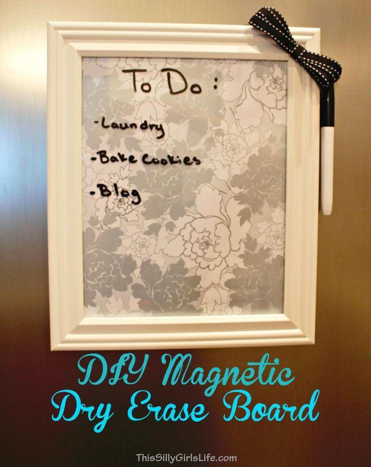 best 25 diy magnetic board ideas on pinterest sheet metal near me magnetic makeup frame and. Black Bedroom Furniture Sets. Home Design Ideas