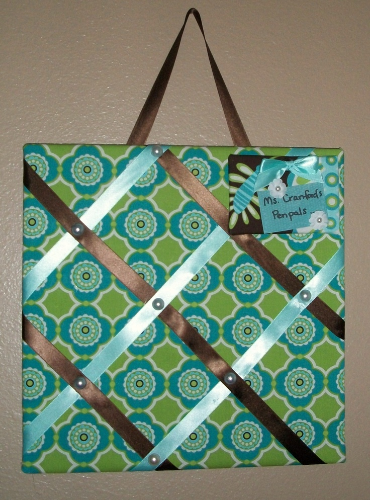 15 best cork board images on pinterest cork boards cork for Diy fabric bulletin board ideas