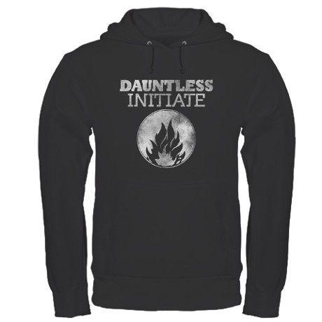 """#Divergent """"Dauntless Initiate"""" Hoodie. OMG I neeeeeddd this now!!!!"""