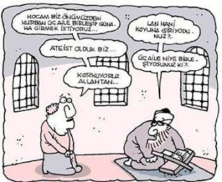 #karikatür #mizah #halk #hoca #bayram #namaz #günah #ateist #korku #kurban http://turkrazzi.com/ipost/1523415461298076876/?code=BUkQkpoAnzM