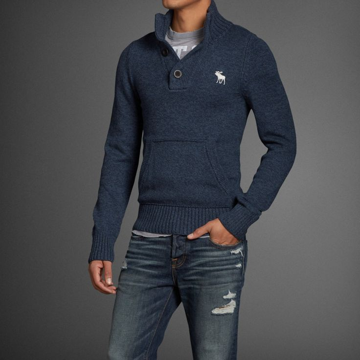 Mens Giant Mountain Sweater | Abercrombie.com