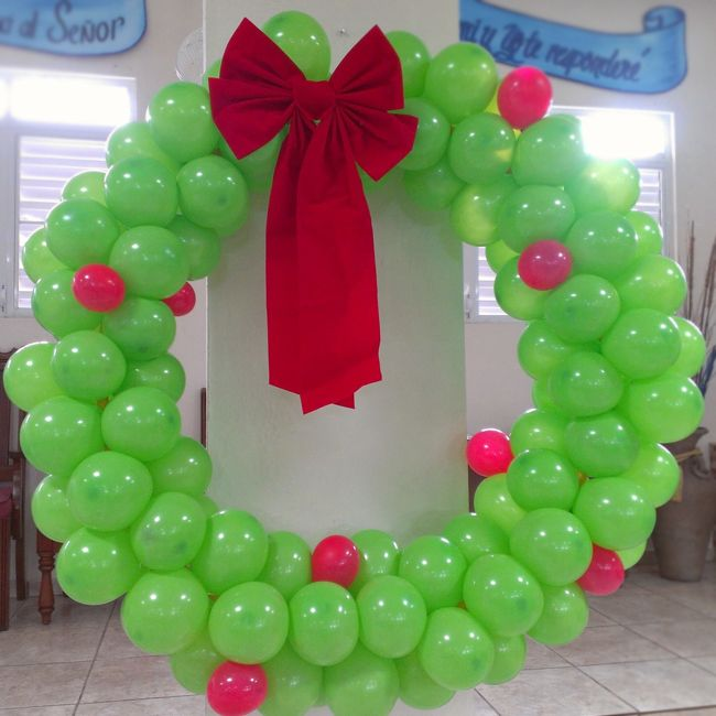 16 Creative Diy Christmas Decorations Ideas: Best 25+ Christmas Balloons Ideas On Pinterest