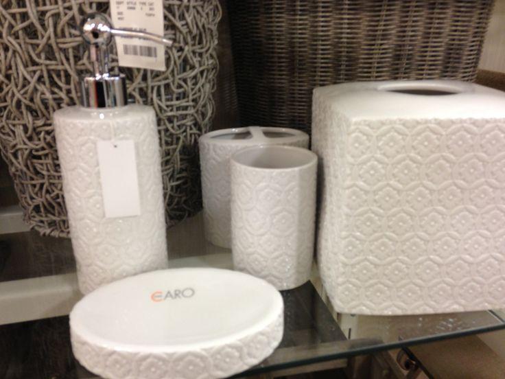 Bathroom accessories at home goods bathrooms pinterest for Bathroom decor home goods