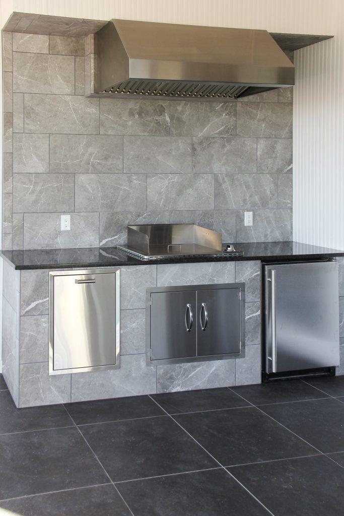 Light Grey Tile Walls Dark Grey Tile Flooring Dark Grey Tile