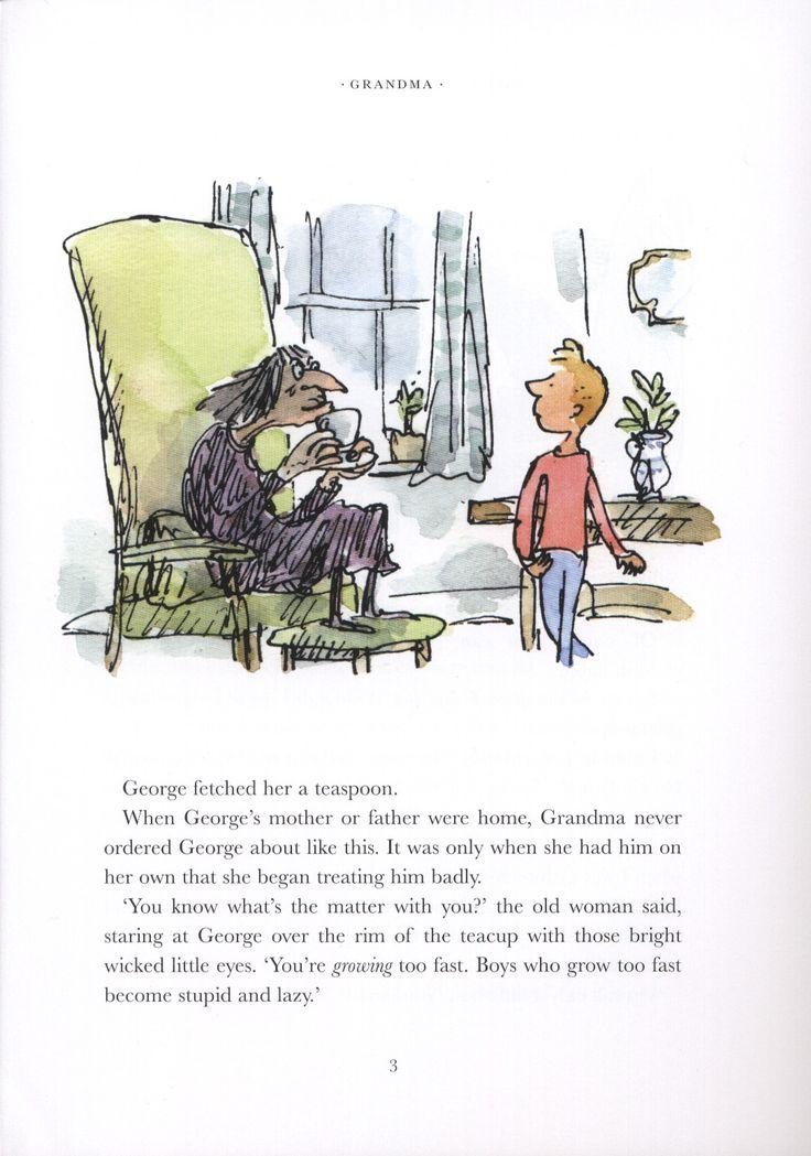 Image result for george's marvelous medicine illustration