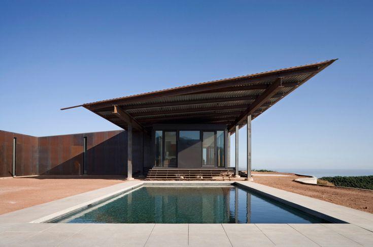 Modern Residential Design Inspiration: Shed Roof - Olson Kundig Montecito Residence