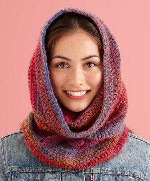Free Crochet Pattern: Cozy Cowl Hood