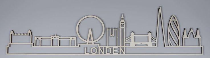 De skyline van Londenbestaatonder andere uit de iconen: deBig Ben, de Tower Bridge, het Buckingham Palaceen hetLonden Eye.