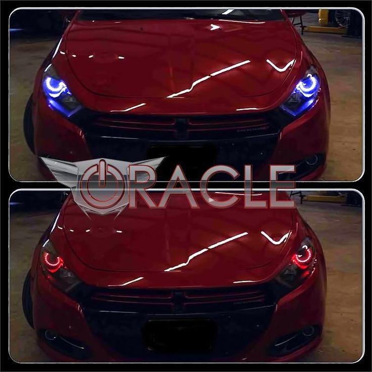 Dodge Dart ORACLE™ Headlight Halo Kit