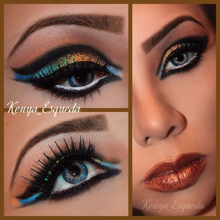 How to make cat eye makeup