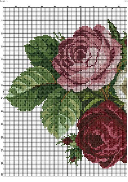 Gallery.ru / Фото #3 - 12 - saudades / trzy róże 3/4