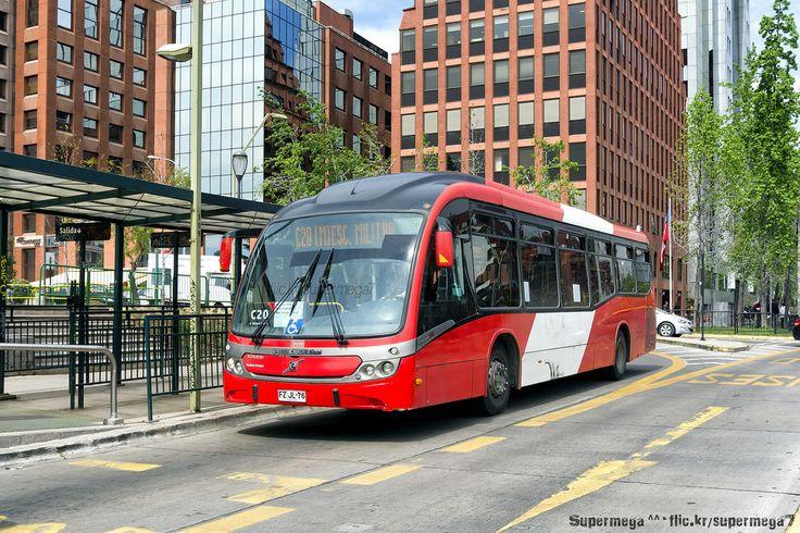 Transantiago (C20) | Redbus Urbano | Neobus Mega BRT Santiago du Chili