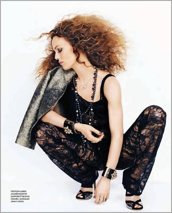 Ванесса Паради для журнала Marie Claire 09/2012