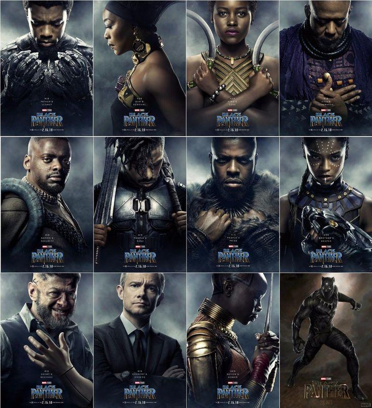 black panther movie poster 24x36