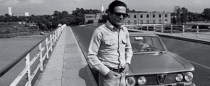 Pier Paolo Pasolini a Sabaudia
