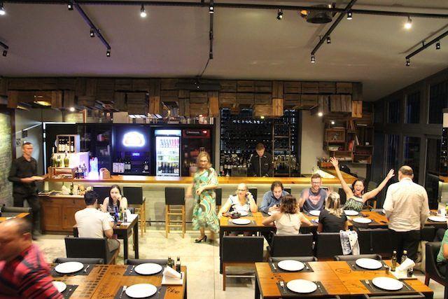 """Onde comer """"ajoelhado"""" em Bento Gonçalves: Restaurante Caldeira"""
