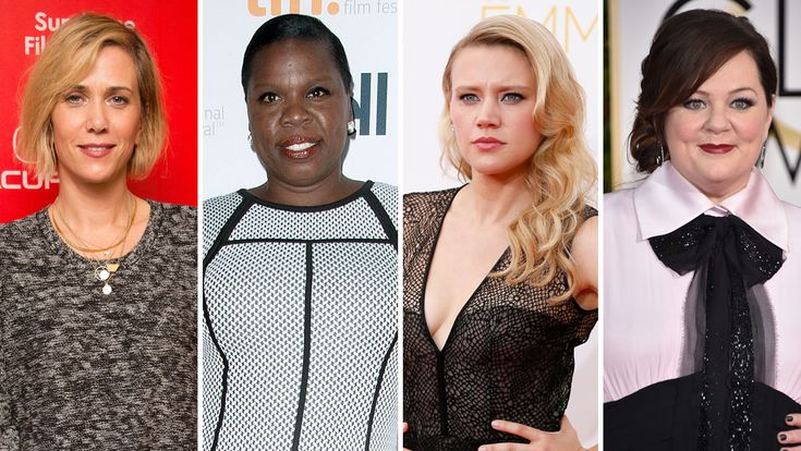 The Hollywood Reporter - New All-Female 'Ghostbusters' Cast Chosen (including SNL Comedienne/Writer Leslie Jones) | Hollywood Reporter