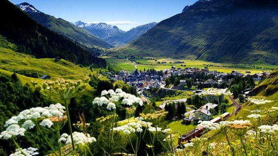 Andermatt, Switzerland...