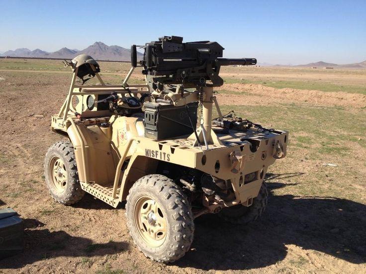 Mk 19 And Quad Bike Seems Like Someone Is Going Hunting