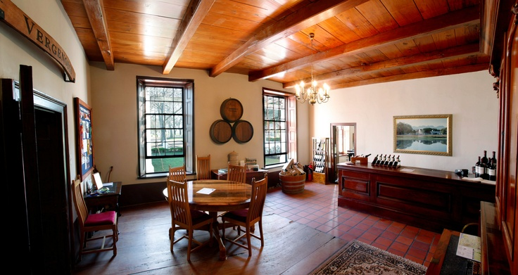 Vergenoegd's small but cozy tasting room,situated in the 1773 Cape Dutch Manor House,and is open from Monday-Sunday 9am-17:00pm(Weekdays) 9:30am-16:00pm (Weekends), Samantha Dumezweni and  Bulelwa Nkqayi will treat you to a tasting of Vergenoegd's delicious Old World styled wines.
