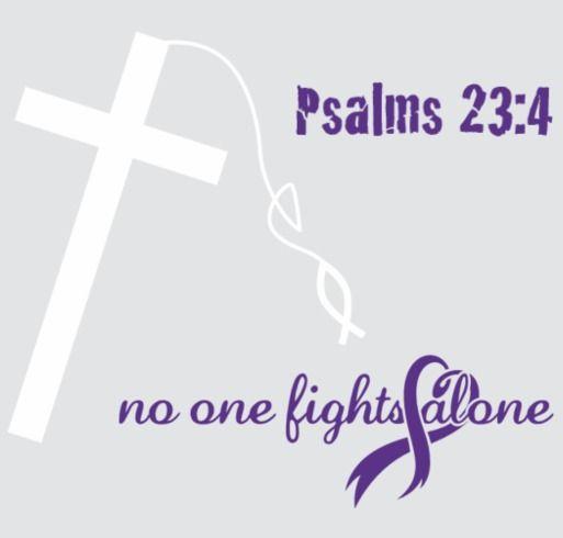#FightingForFarris shirt design - zoomed. Pancreatic cancer Pancan cancer awareness pancreatic cancer awareness