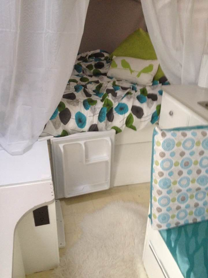 Shannon's pop up tent trailer makeover