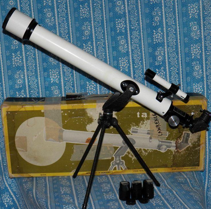 VINTAGE 1960's TASCO 6TE-5 REFRACTOR TELESCOPE WITH