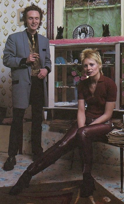 beat-generator: Malcolm McClaren and Vivienne Westwood.