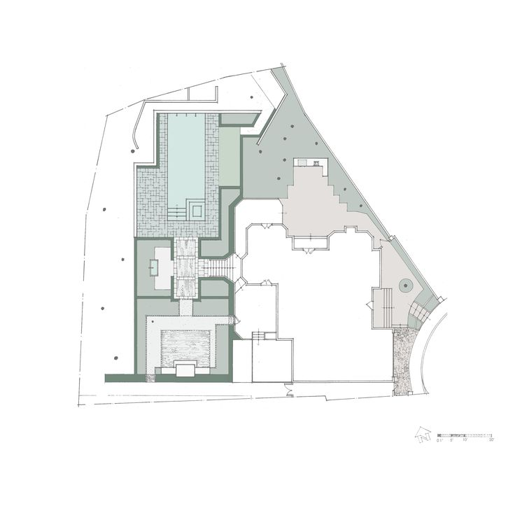 Plan view of proposed master plan.