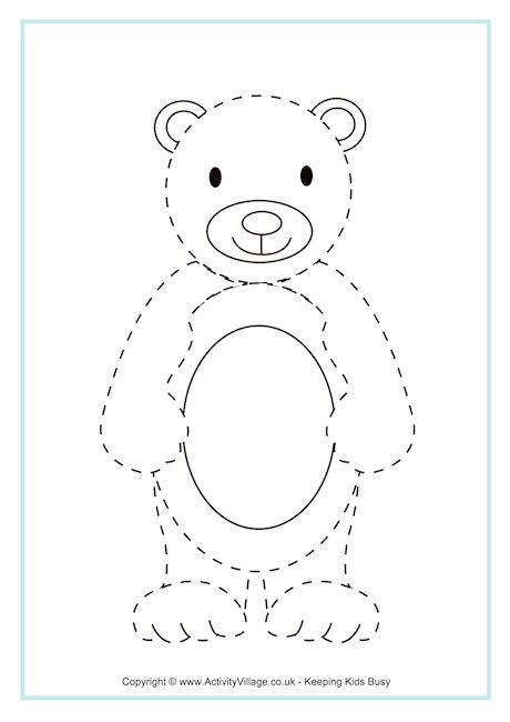 Bear Tracing Page                                                                                                                                                                                 More