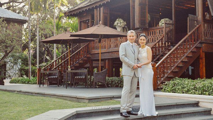 Pam & Kurt – Chiangmai wedding at 137 pillars house