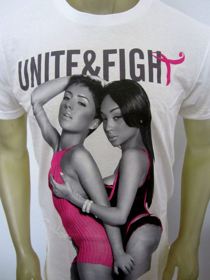 "NWT Two In The Shirt ""TITS"" white Unite & Fight urban skate shirt men's LARGE #twointheshirt #GraphicTee"