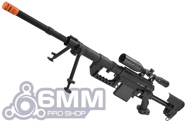 CheyTac Licensed M200 .408 Type Bolt Action Sniper Rifle by 6mmProShop (Black)Find our speedloader now!  http://www.amazon.com/shops/raeind