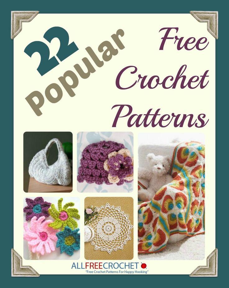 92 best free crochet pattern ebooks images on pinterest crochet 22 popular free crochet patterns ebook fandeluxe Document