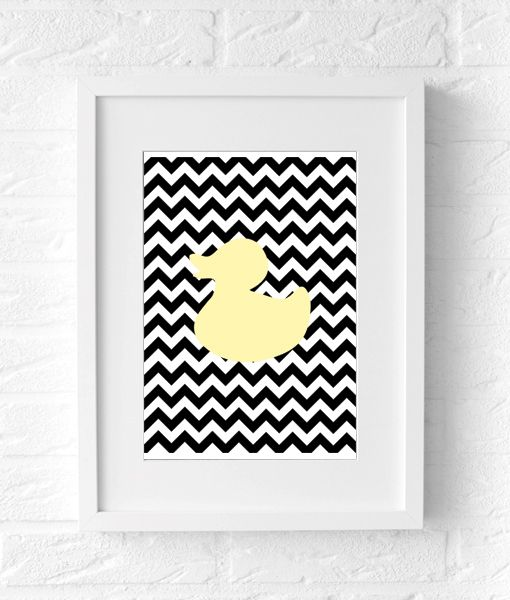 badeend poster duck poster interior poster
