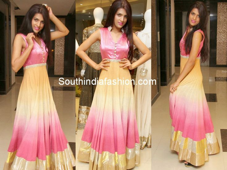 Trendy Floor Length Anarkalis @ Vijay Rana Franchise Showroom Launch, Hyderabad Celebrity Sarees, Designer Sarees, Bridal Sarees, Latest Blouse Designs 2014 South India Fashion