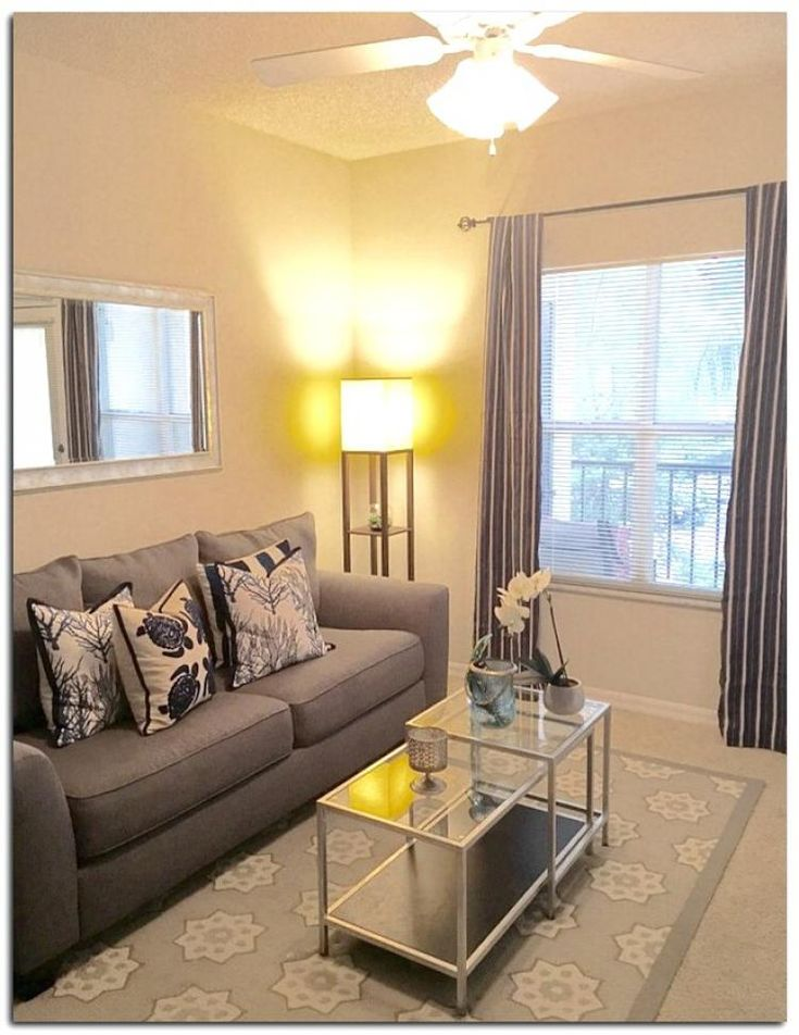 40 Nice Living Room Design Ideas for Small Apartment in ...