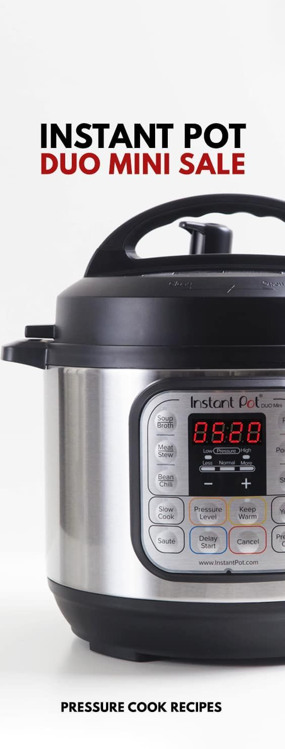 Instant Pot Sale Today! Great deal for Instant Pot DUO Mini 3-Quart 7-in-1 Electric Pressure Cooker. Don't miss out on some early Christmas shopping.