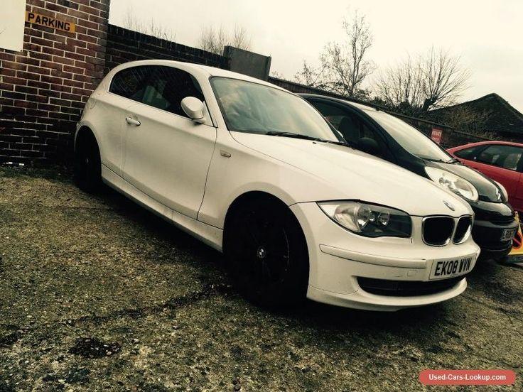 Spares or Repair: 2008 BMW 116i 3 door NO RESERVE #bmw #116 #forsale #unitedkingdom